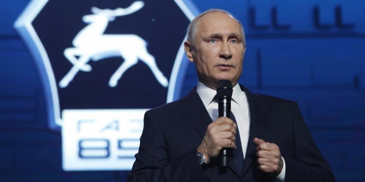 Putin anuncia que buscará la reelección en 2018