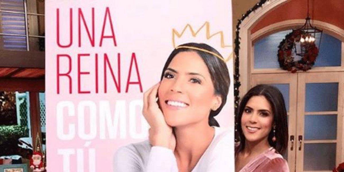 """Francisca Lachapel presentó su primer libro """"Una reina como tú"""""""