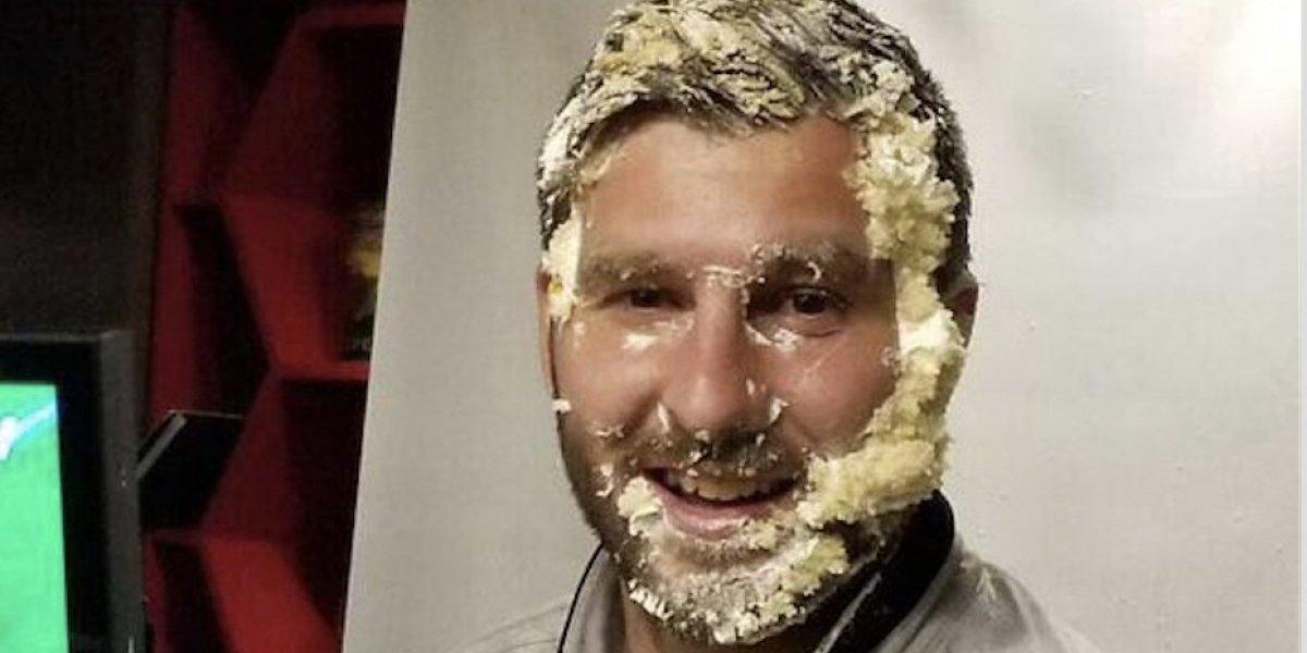 Con pastelazo, Gignac celebró su cumpleaños