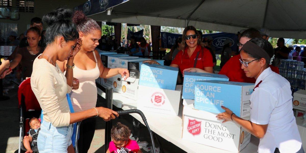 Ford contribuye con entidades para levantar a Puerto Rico