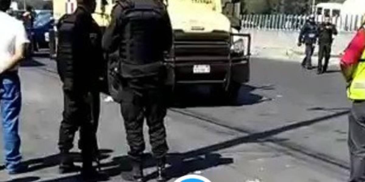 Asesinan a tres custodios en intento de asalto en la GAM