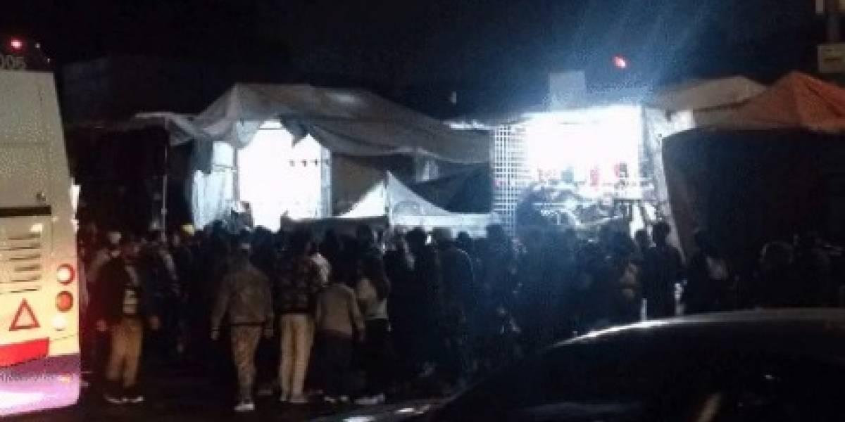Reportan balacera afuera de Metro Tepito; habría dos heridos