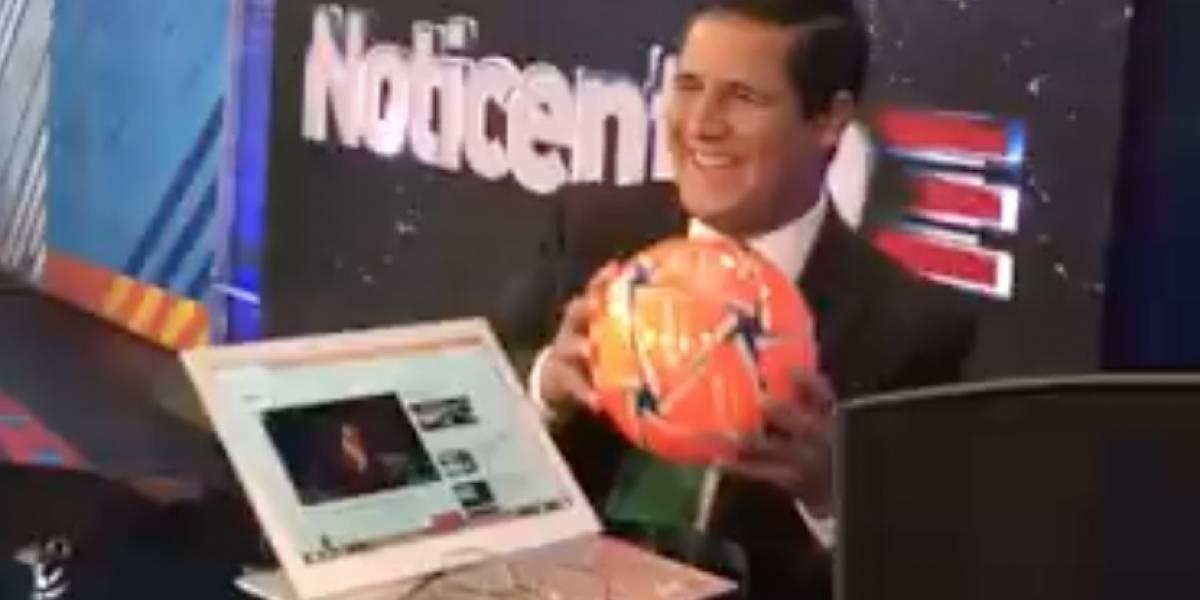 Normando le juega tremenda broma a Jorge Gelpí