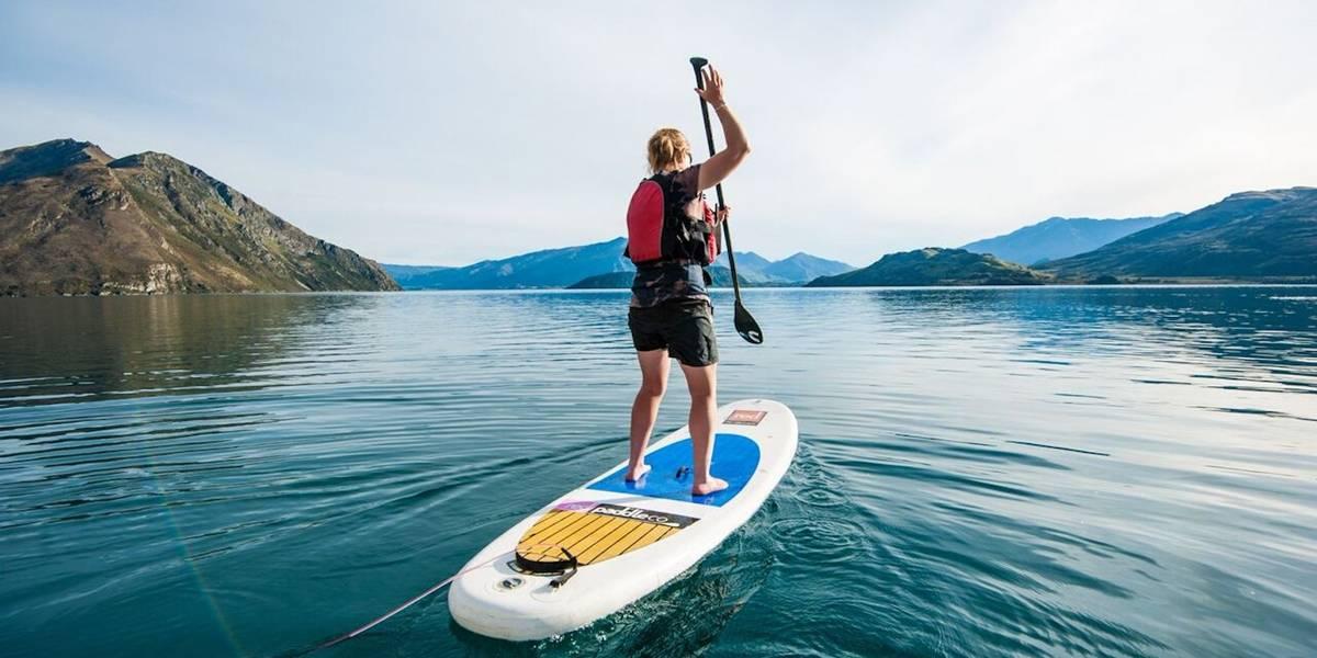 Conheça 5 lugares paradisíacos para fazer stand up paddle na Nova Zelândia nesse verão