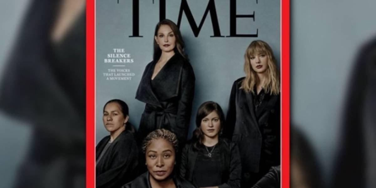 Las víctimas de acoso sexual son las personalidades del año y se toman la portada de la Time