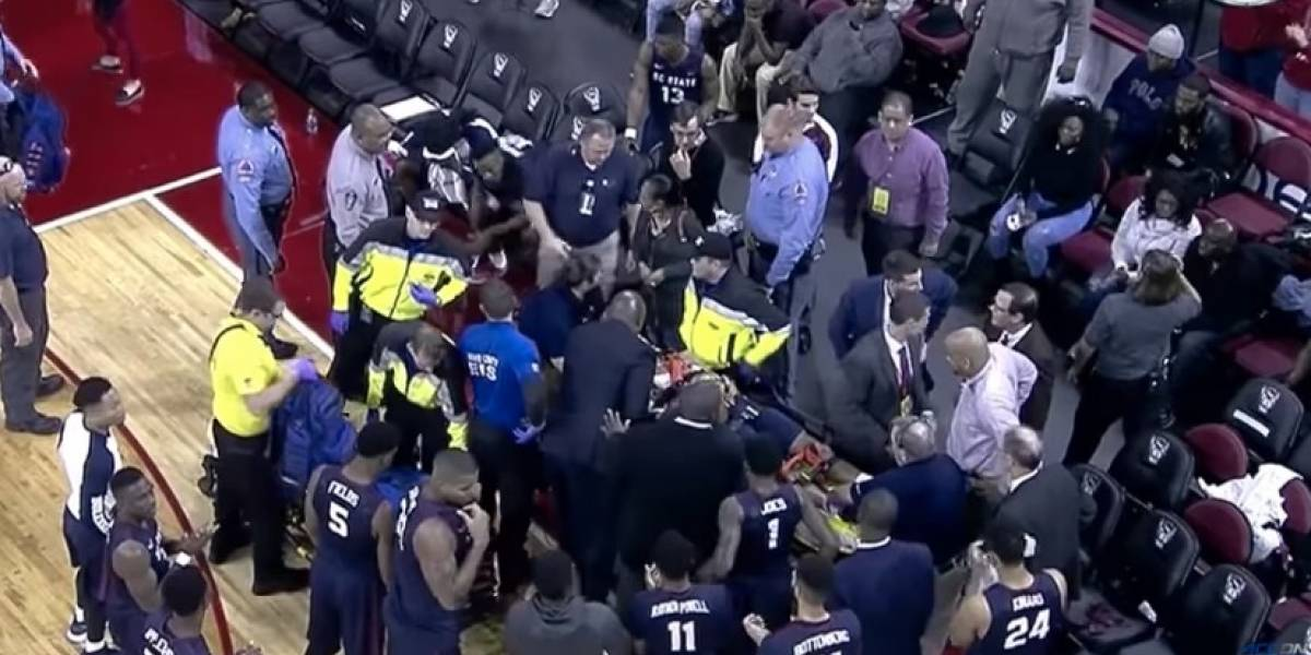 VIDEO: Jugador de basquetbol sufrió paró cardíaco en un partido