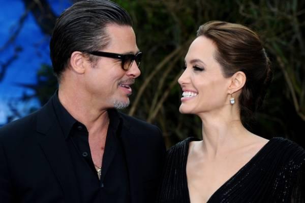 Angelina Jolie By The Sea