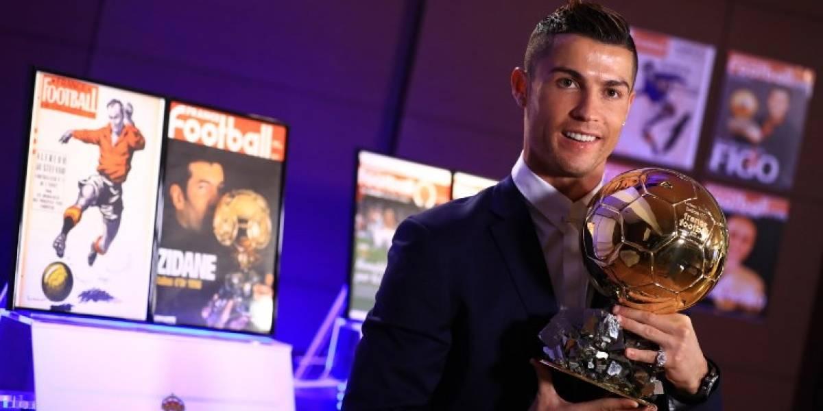Cristiano Ronaldo gana su quinto Balón de Oro y alcanza a Lionel Messi en el palmarés