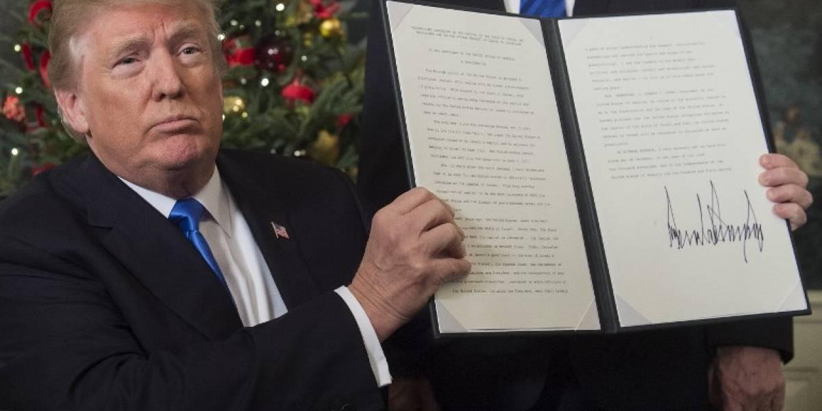 """Netanyahu alaba a Trump tras polémica decisión sobre capital de Israel: """"Entró para siempre en la historia de Jerusalén"""""""