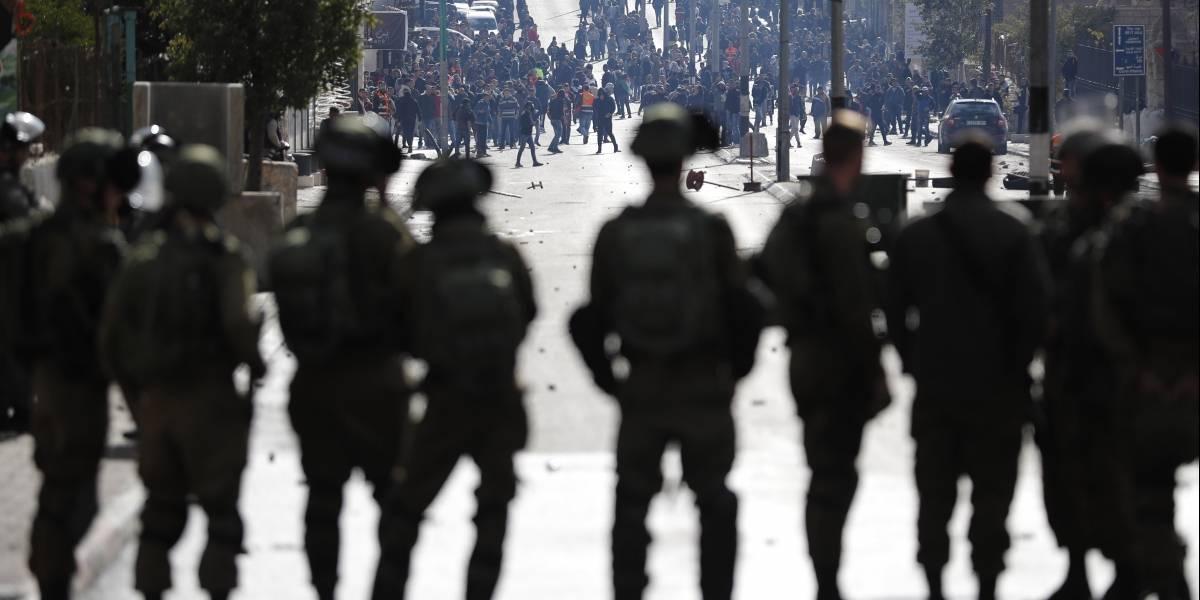 """Israel """"armado hasta los dientes"""" para enfrentar las protestas luego que Trump reconociera a Jerusalén como su capital"""