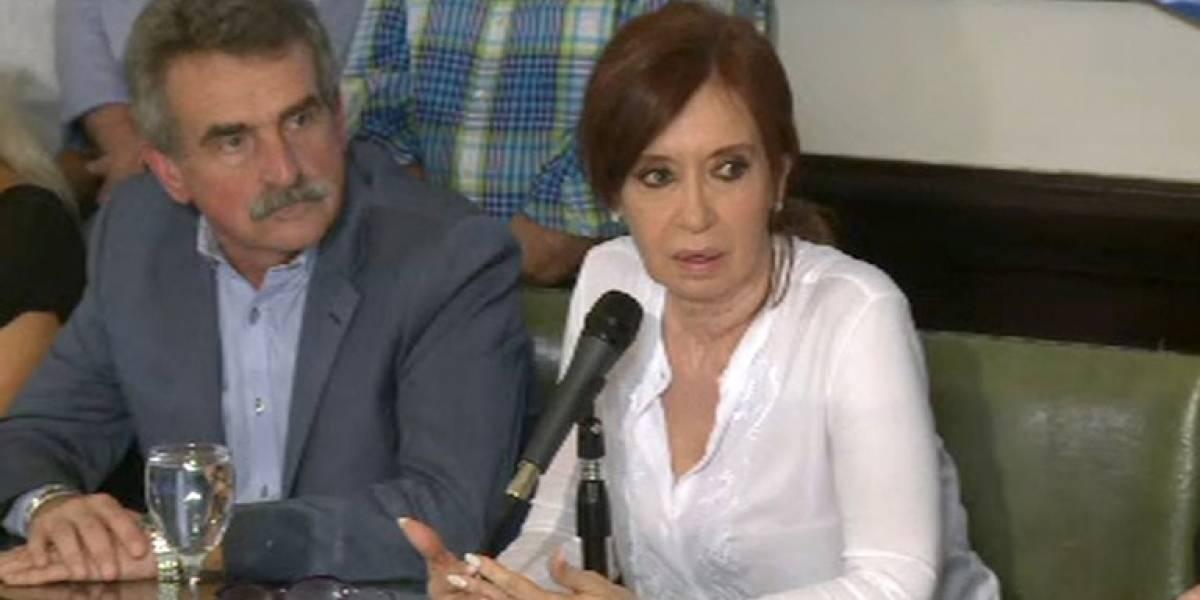 """Como una """"persecución"""" calificó Cristina Fernández la solicitud de arresto y desafuero en su contra por caso Amia"""