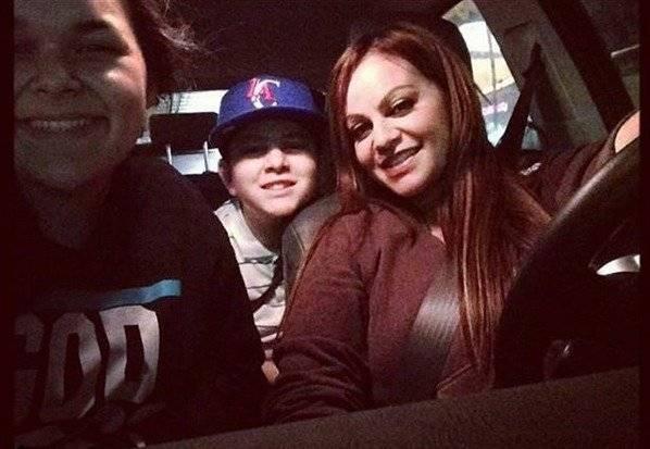 Última foto con sus hijos.