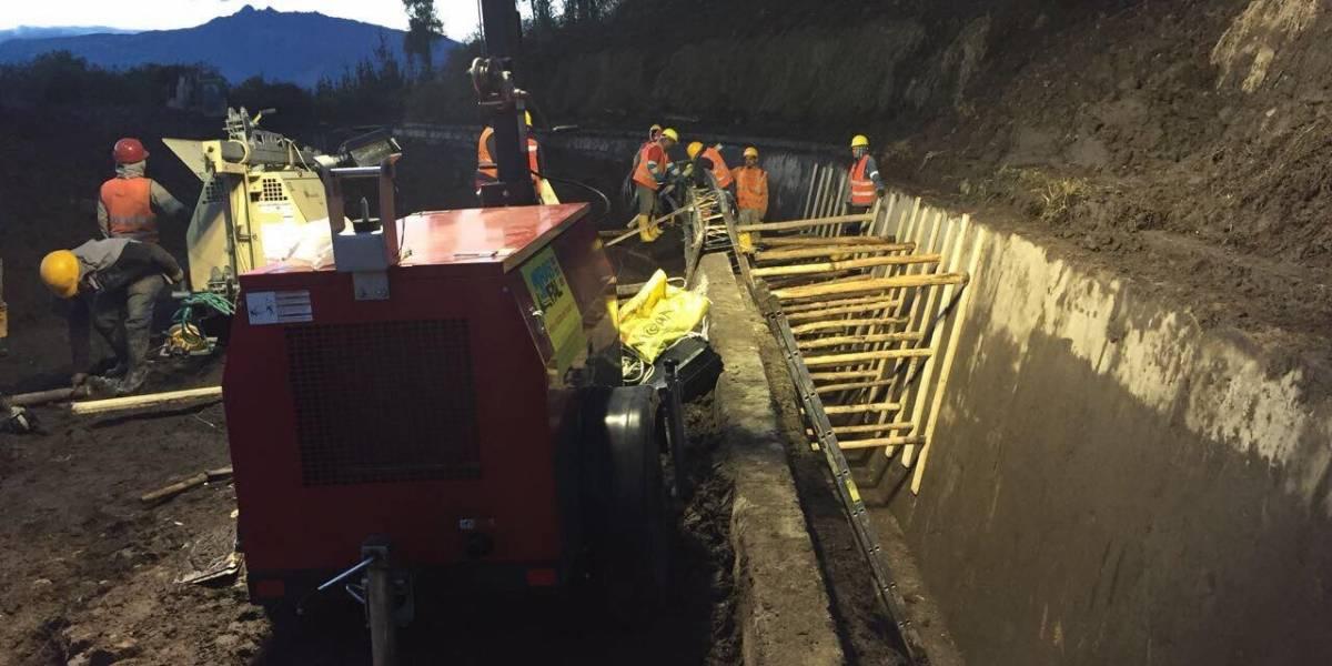 Municipio ha trabajado durante más de 30 horas seguidas en emergencia de El Troje