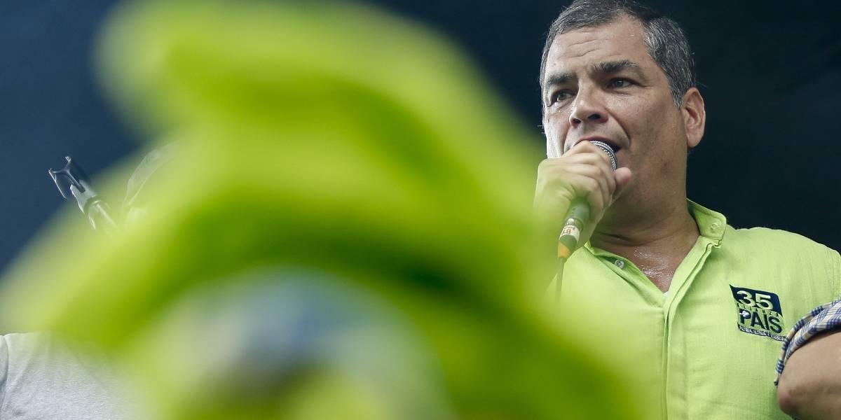 Rafael Correa: Estamos realmente en un régimen de facto