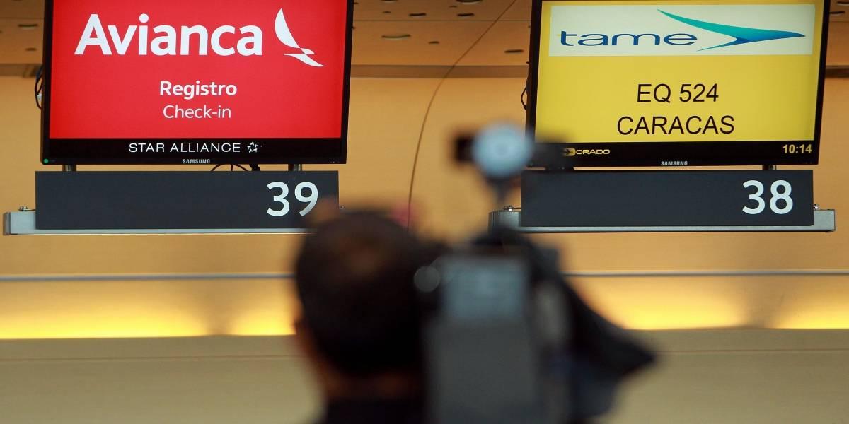 Pilotos europeos denuncian despido de pilotos de Avianca por hacer huelga