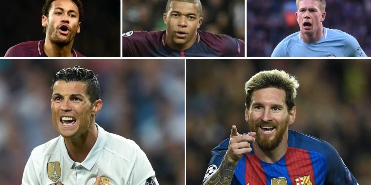 ¿Quiénes serán los aspirantes al Balón de Oro cuando Cristiano Ronaldo y Lionel Messi ya no cuenten?