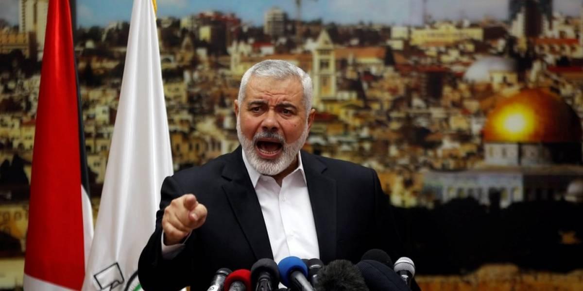 """El grupo palestino Hamas llama a una nueva """"intifada"""" por reconocimiento de Jerusalén como capital de Israel por parte de Donald Trump"""