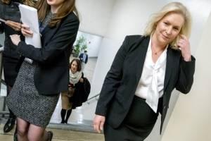 La senadora demócrata Kirsten Gillibrand, del estado de Nueva York / AP