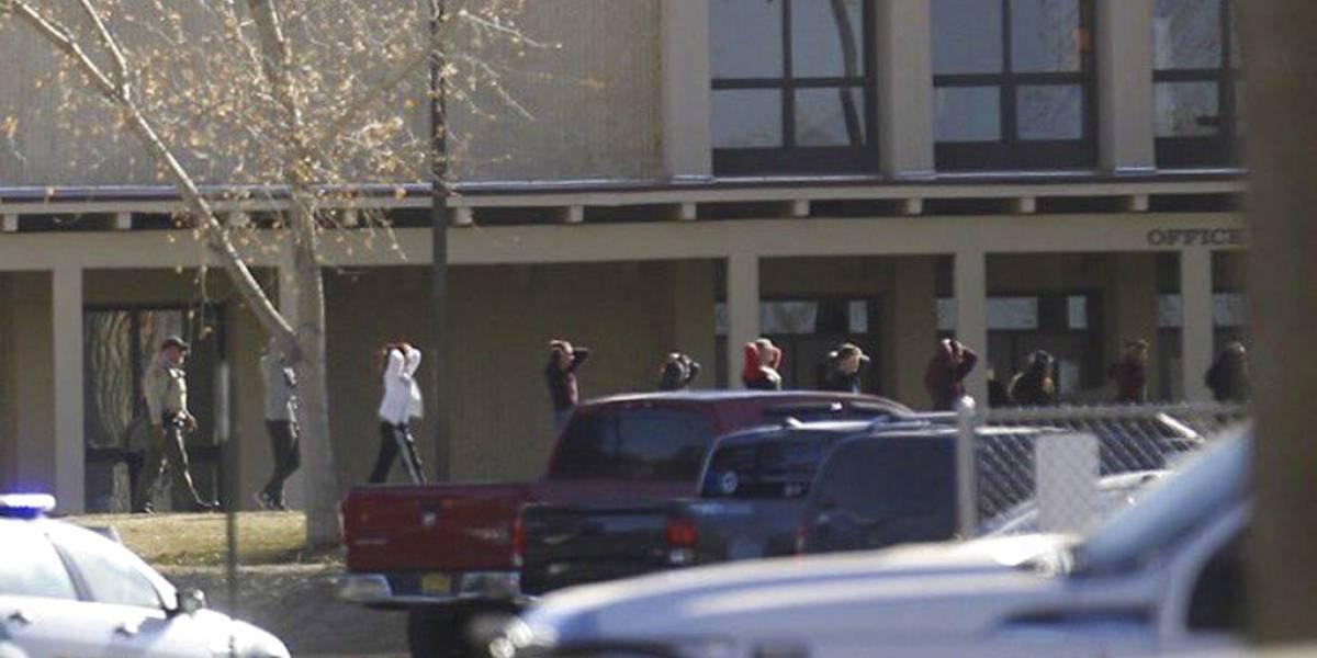 Se registra tiroteo en una escuela de Nuevo México