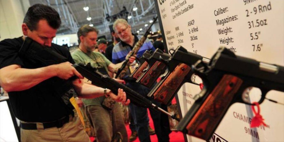 Cámara Baja EEUU aprobó proyecto para facilitar el porte de armas