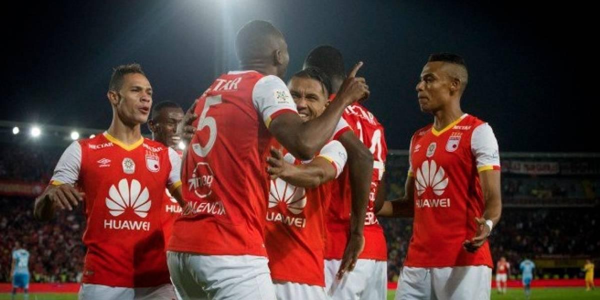 ¡Santa Fe es finalista! los hinchas rojos celebran luego del empate frente al Tolima