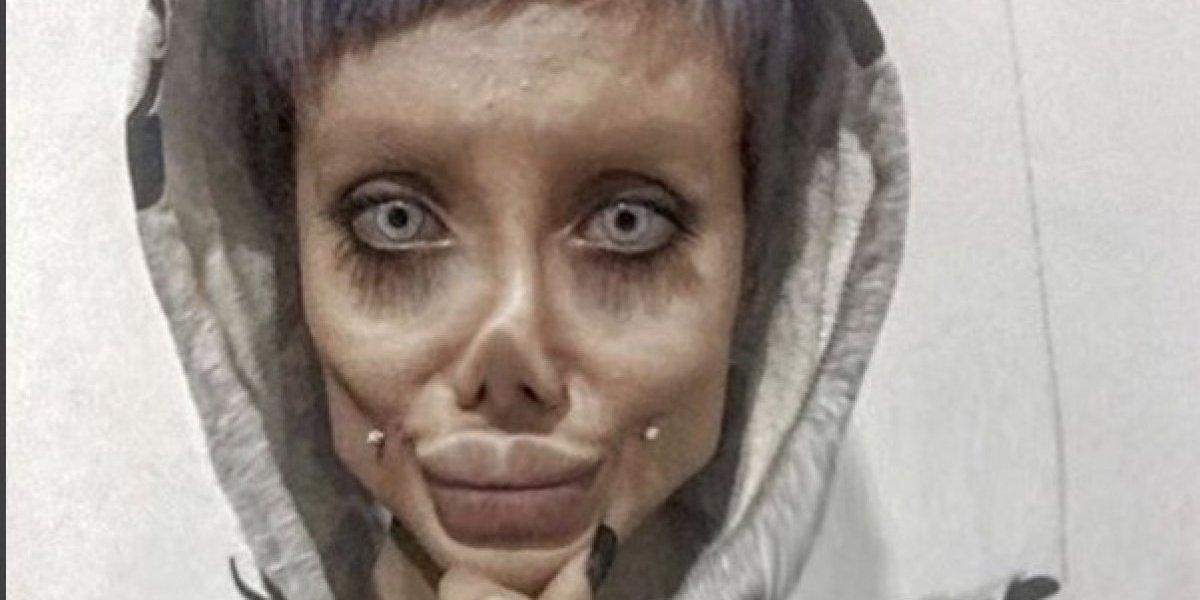 La Angelina Jolie iraní revela la verdad de sus fotos y sus 50 cirugías