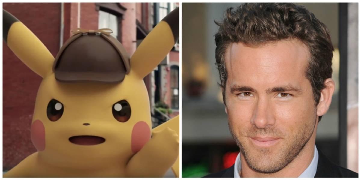 "Ryan Reynolds será Pikachu en live action de ""Pokémon"""