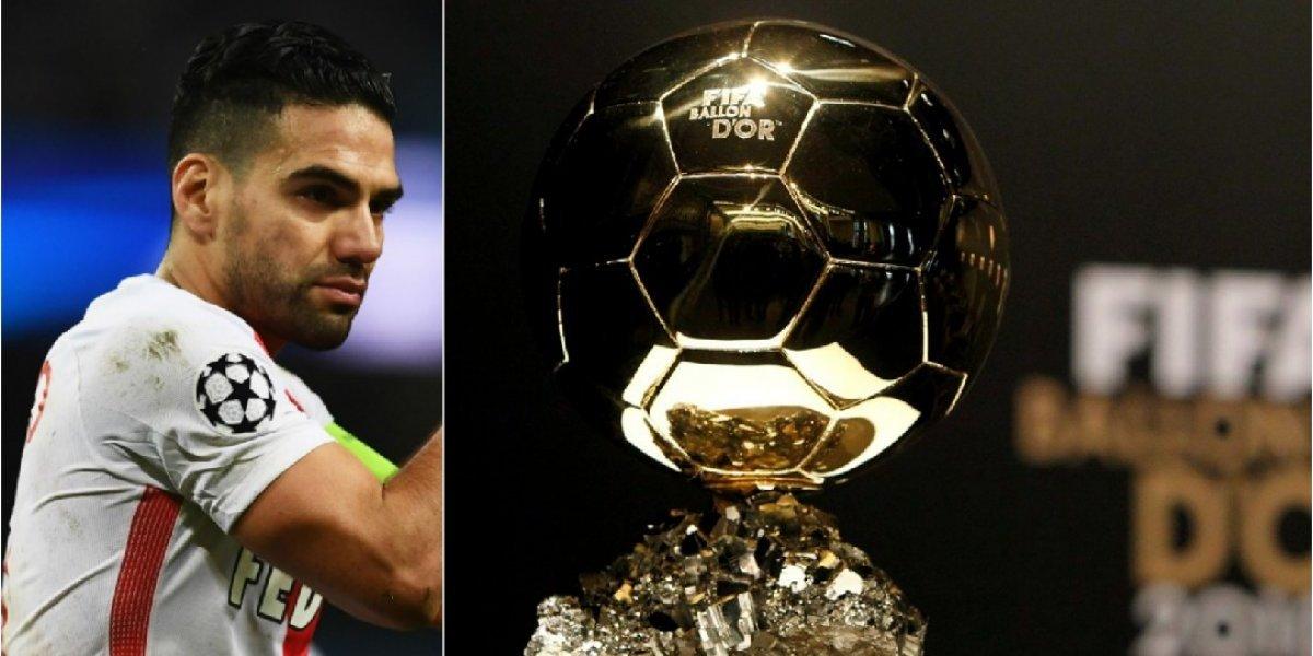 Falcao se destacó en la elección de Balón de Oro, que ganó Cristiano