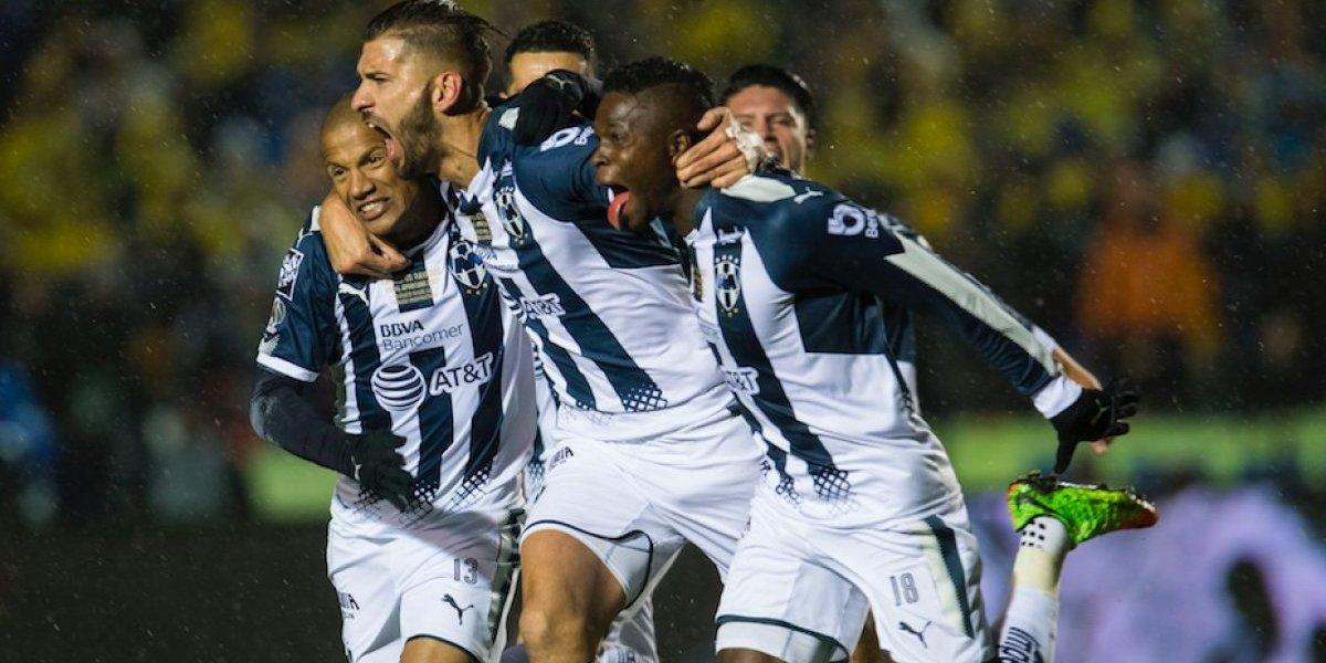 Tigres y Monterrey empatan 1-1 en la Final de Ida del Apertura 2017