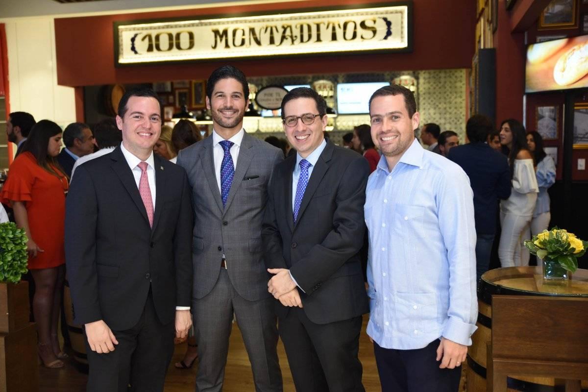 Carlos SANTELISES, LEONARDO DEL MONTE, HECTOR MORILLO Y MIGUEL DUEN_AS