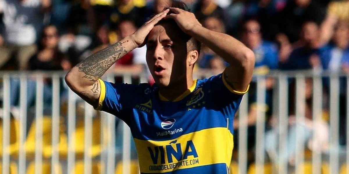 Jaime Carreño no sigue en Everton y se alista para volver a la UC