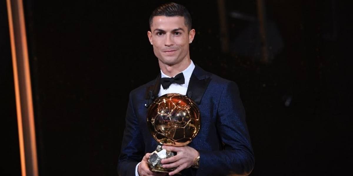 OFICIAL: Cristiano Ronaldo gana su quinto Balón de Oro