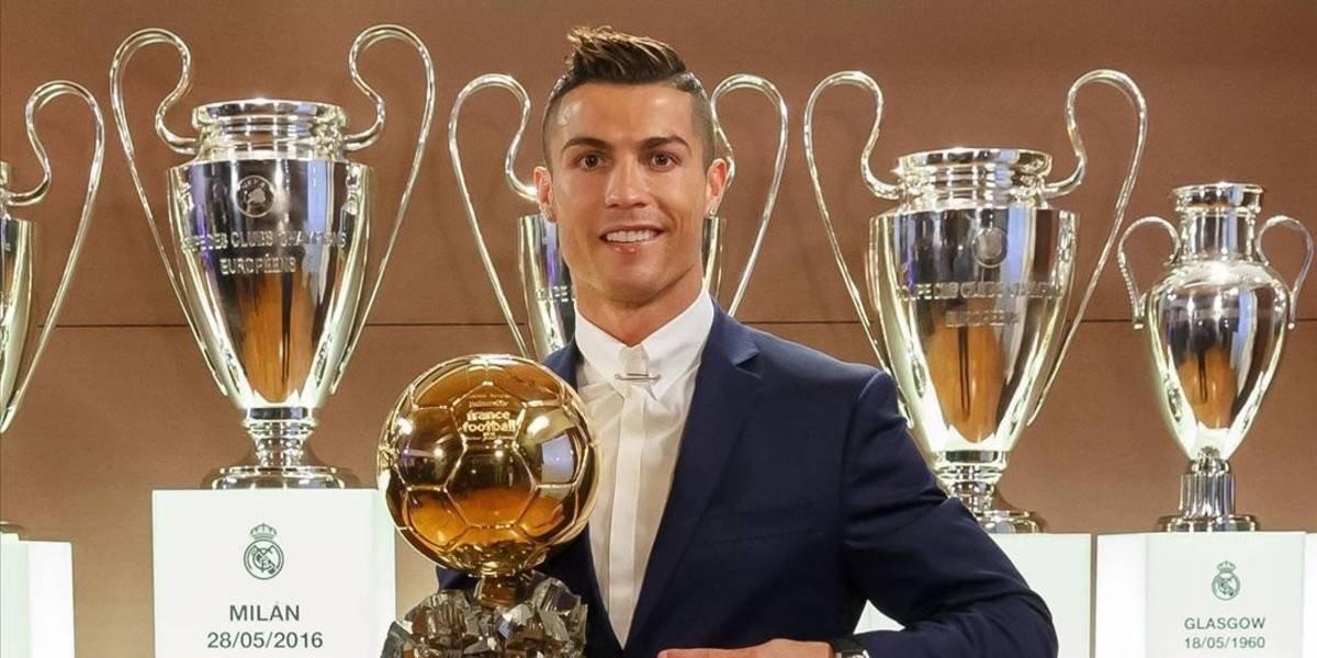 Cristiano Ronaldo gana su quinto Balón de Oro y empata con Messi