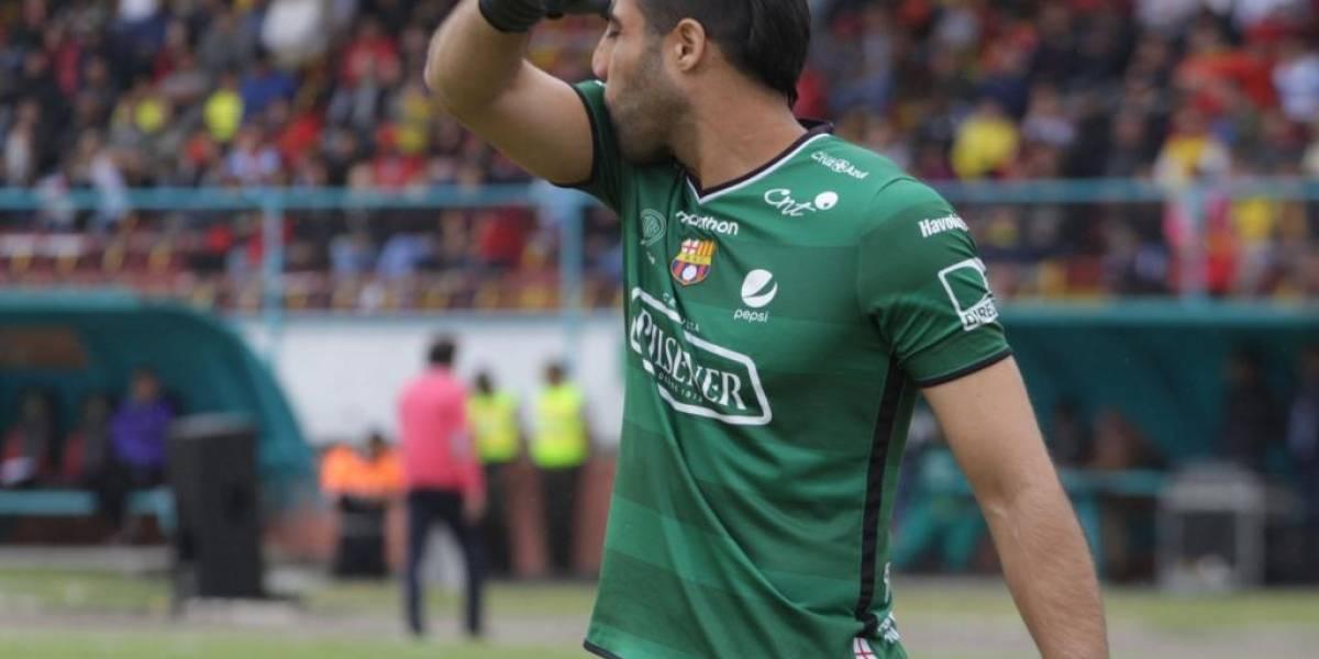 Damián Lanza se despide con lágrimas de Barcelona SC