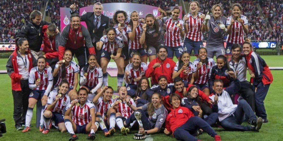 Chivas femenil ya sueña con el bicampeonato de la Liga MX