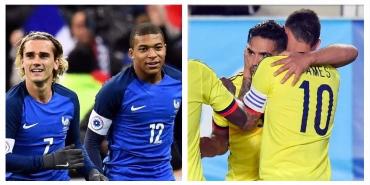 Francia se enfrentará a Colombia en su preparación para el Mundial