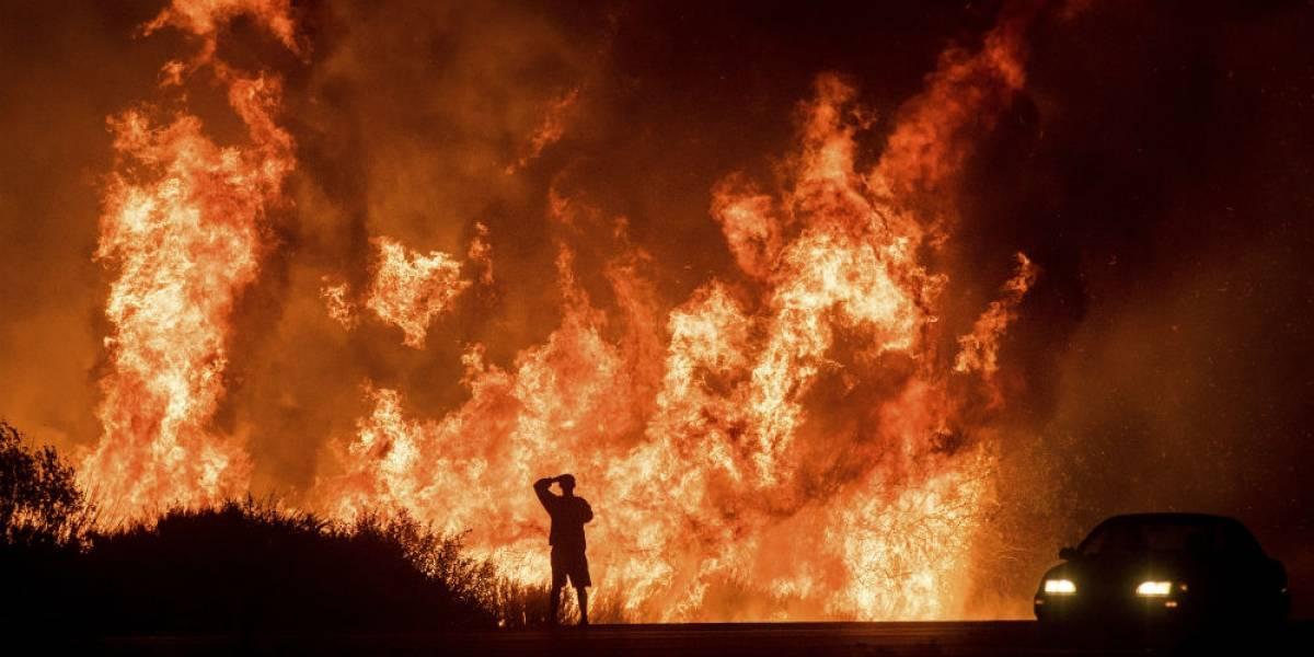 Incendios en California consumen 40 mil hectáreas