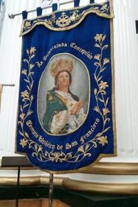 Estandarte de la Virgen de los Reyes