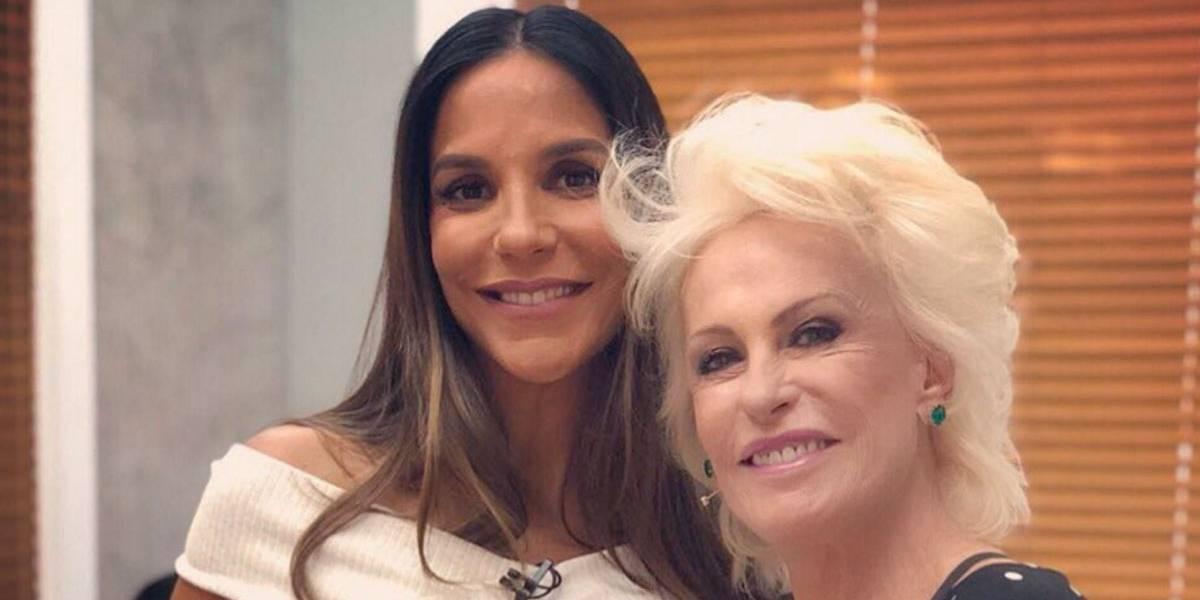 Ana Maria Braga dá resposta atravessada a Ivete Sangalo