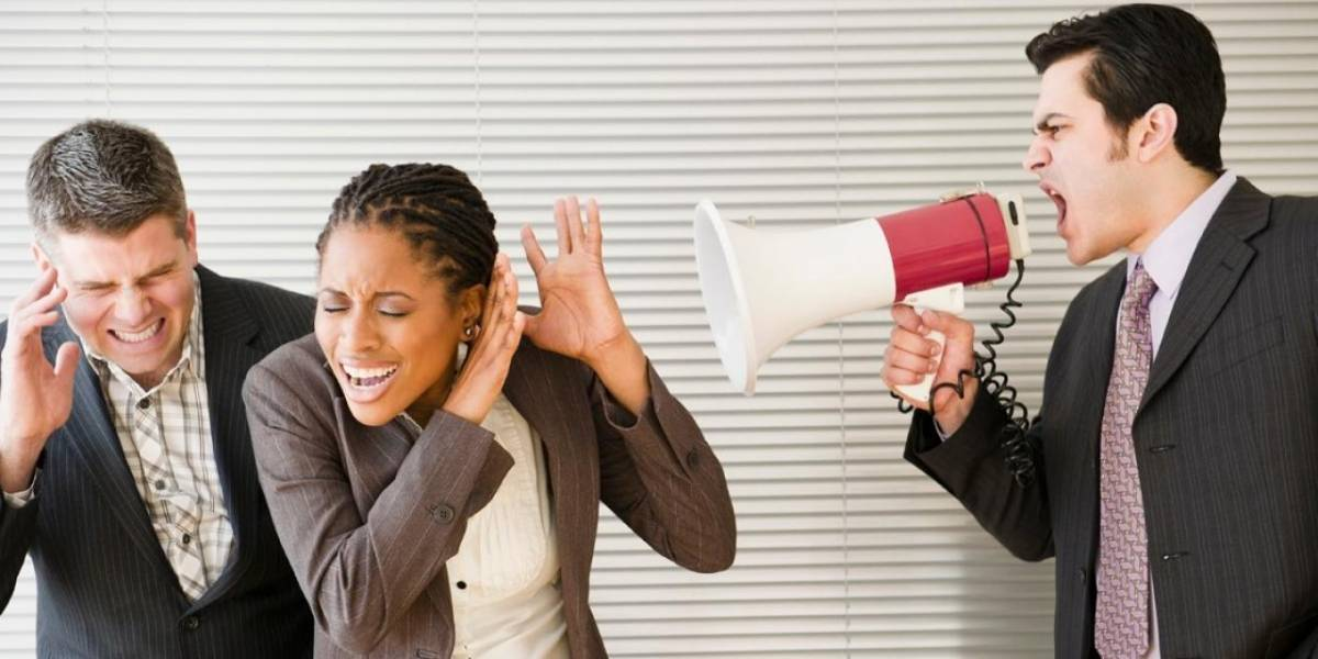 Cómo reaccionar cuando el jefe te grita