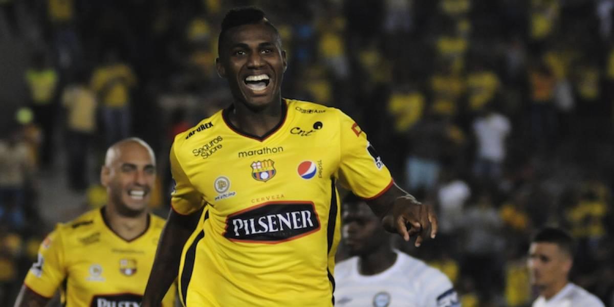 José Ayoví estaría fuera de Barcelona SC