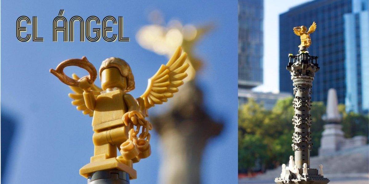 Así puedes hacer realidad el LEGO del Ángel de la Independencia