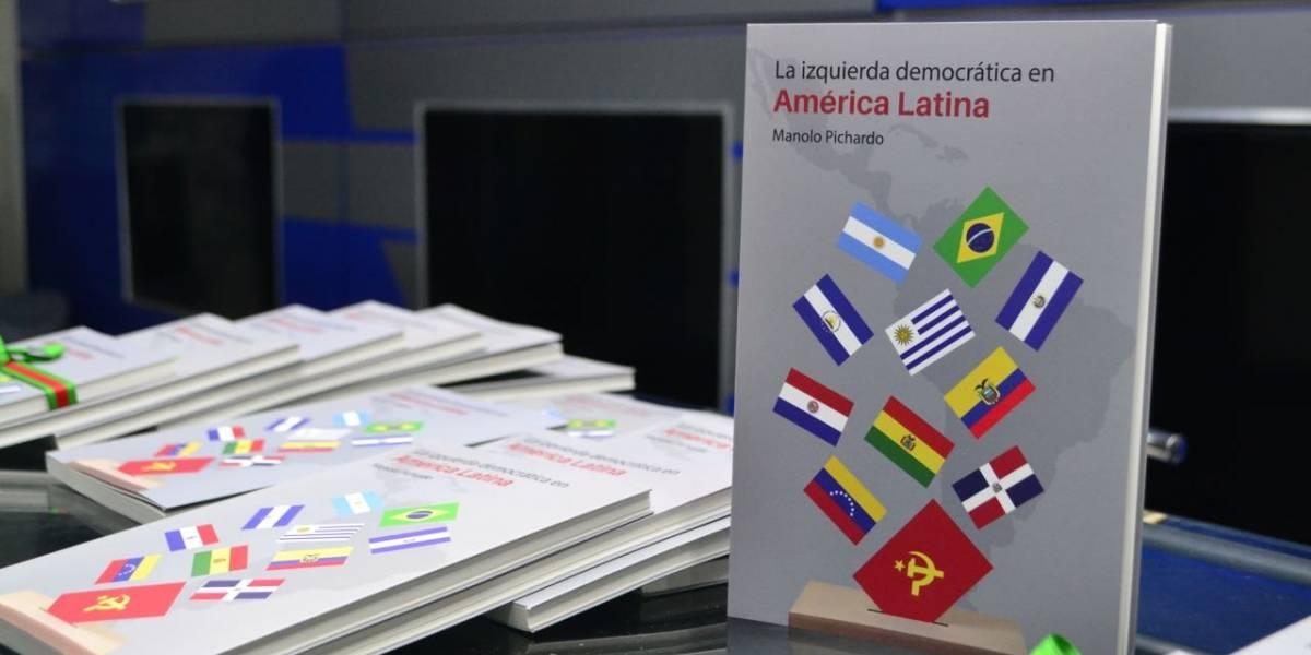 """Manolo Pichardo presentó libro """"La izquierda democrática en América Latina"""""""