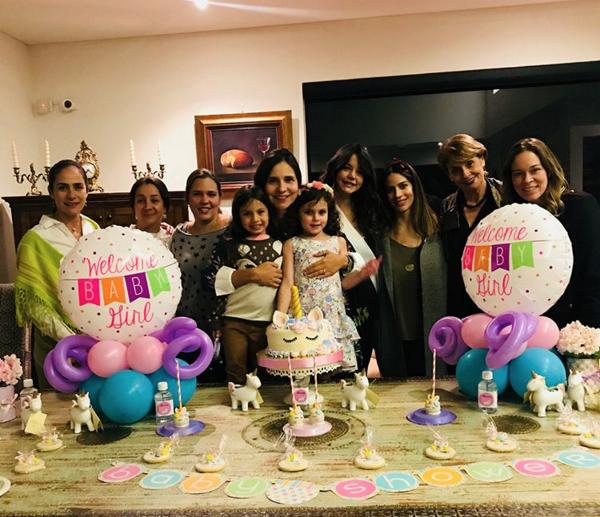 Así fue la bienvenida que amigas de Maleja Restrepo le dieron a su segunda hija