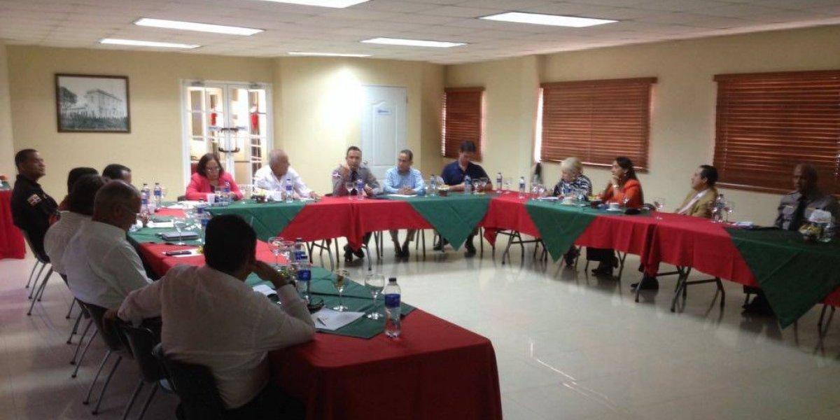Cámara de Comercio de Puerto Plata y Dirección Regional Norte de la PN debaten temas de seguridad