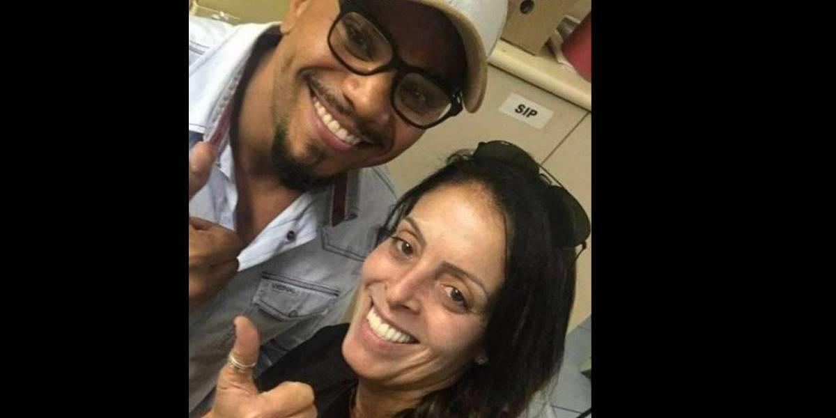 Policial que tirou foto com Rogério 157 também fez selfie com Naldo
