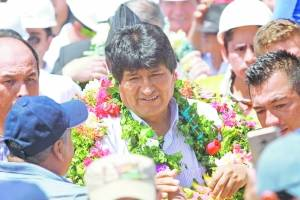 BOLIVIA: EVO MORALES