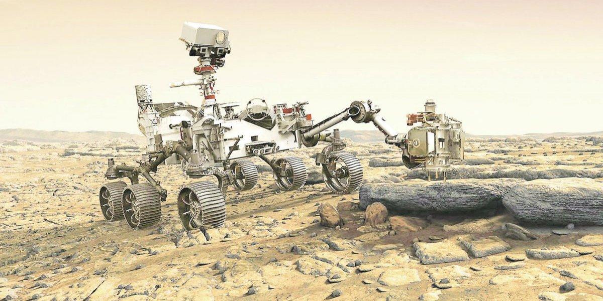 Este robot buscará vida en Marte