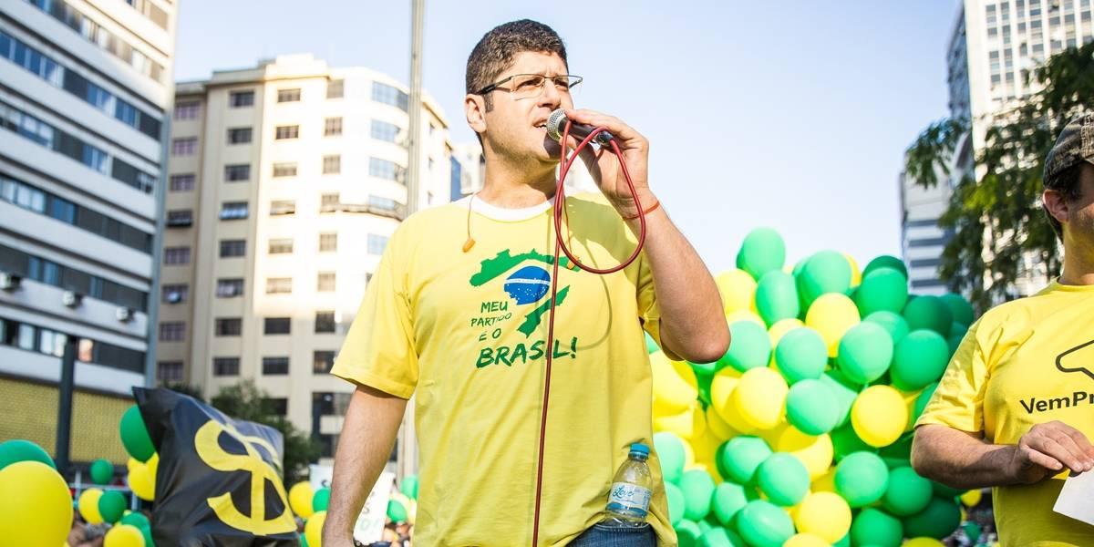Partido Novo convida líder do Vem pra Rua para concorrer ao governo de SP