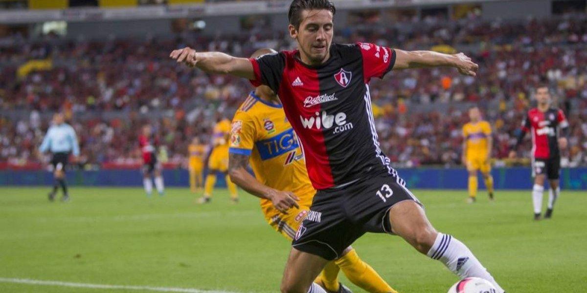 Javier Salas se irá del Atlas para jugar con Cruz Azul